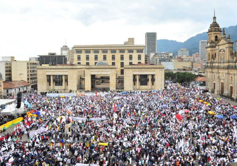 Semana de la indignación en Colombia