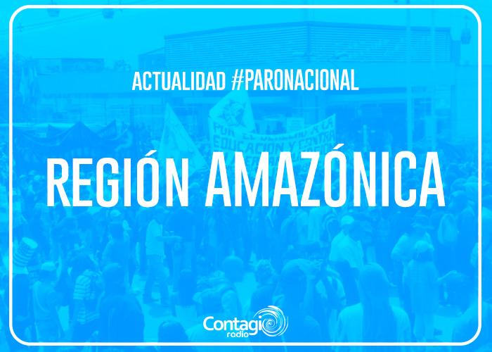 Así avanza el paro nacional en la Región Amazónica