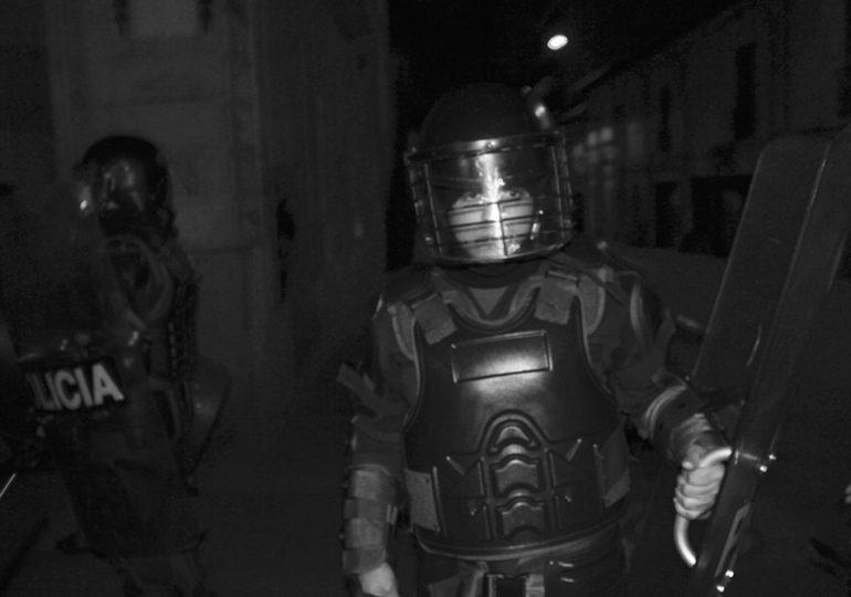 ESMAD agrede con bombas aturdidoras a estudiantes de la UDistrital