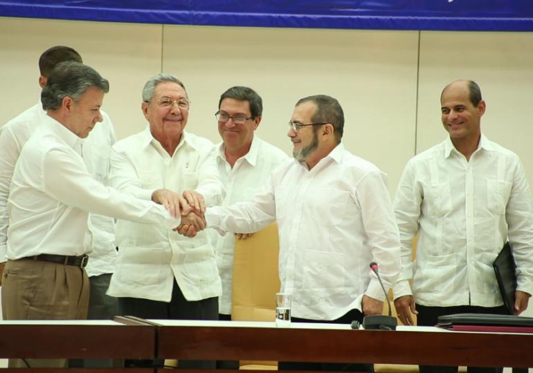 Los ojos del mundo entero están puestos sobre la Paz de Colombia