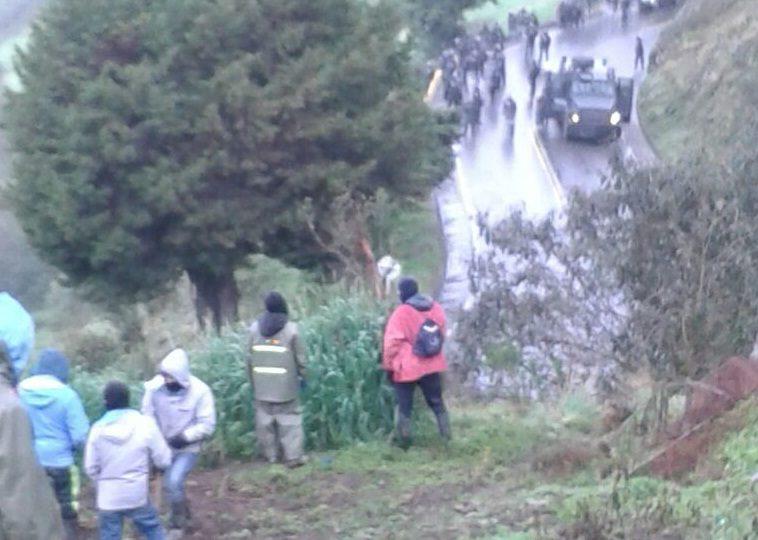 134 campesinos detenidos en Santander durante el quinto día de Minga Nacional