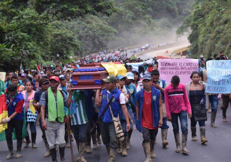 85 heridos y 12 detenidos deja represión de Fuerza Pública a Minga Nacional
