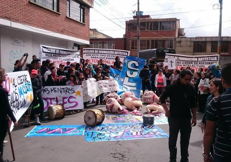 Alcaldía Engativá cancela contratos para iniciativas artísticas y culturales