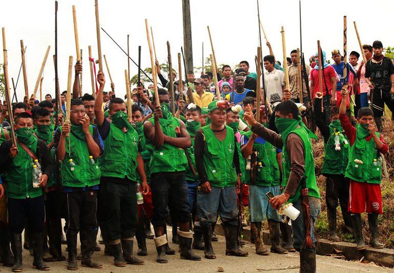 Plataformas de DDHH expresaron su respaldo a la Minga