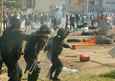A 8 asciende la cifra de asesinatos tras represión policial en Oaxaca