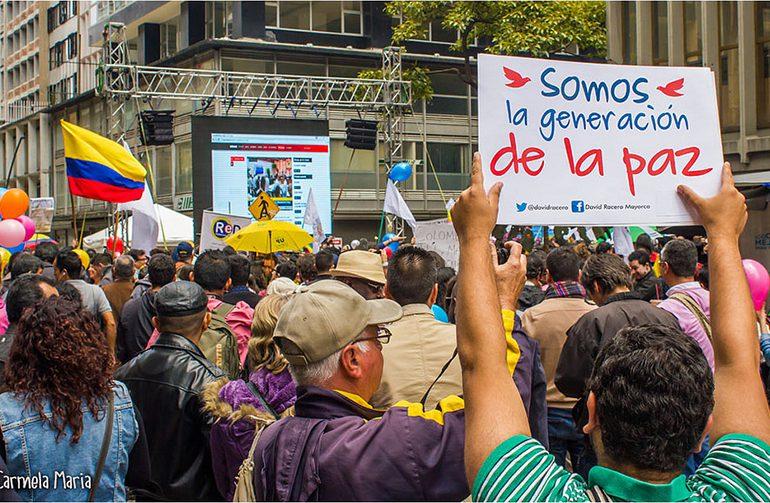 """""""Colombia le dice al mundo que enfrentar el miedo y movilizarse si paga"""""""