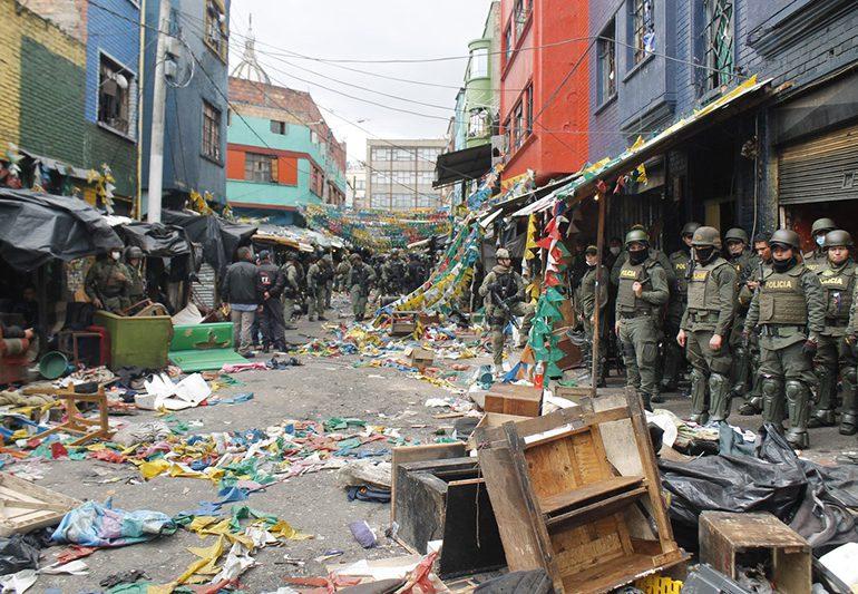 Casas de tortura en el corazón de Bogotá