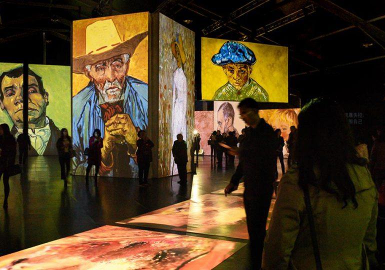 """""""Van Gogh alive"""", una experiencia multisensorial"""