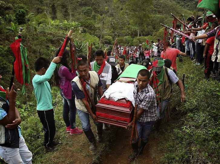 5 Indígenas del Norte del Cauca han sido asesinados en últimos días