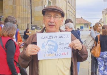 Carlos Arturo Velandia regresaría a la libertad este viernes