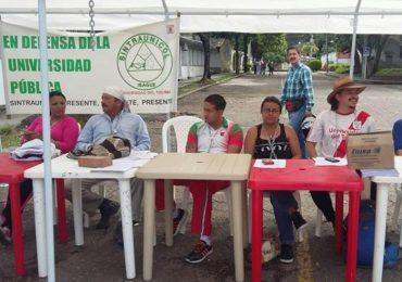 5 días en huelga de hambre para exigir soluciones a la crisis de la Universidad del Tolima