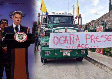 La respuesta de los camioneros a las medidas de Santos