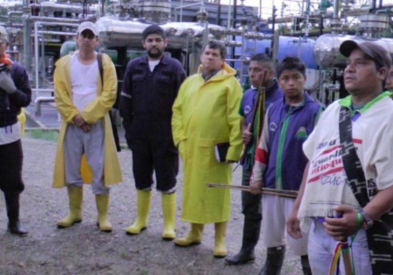 Indígenas U'wa se toman planta de Ecopetrol ante incumplimientos del gobierno