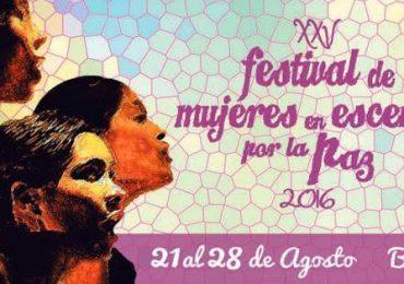 Festival de Mujeres en escena por la paz 25 años