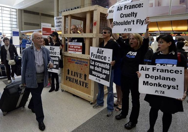 Empleados de Air France completan una semana en huelga