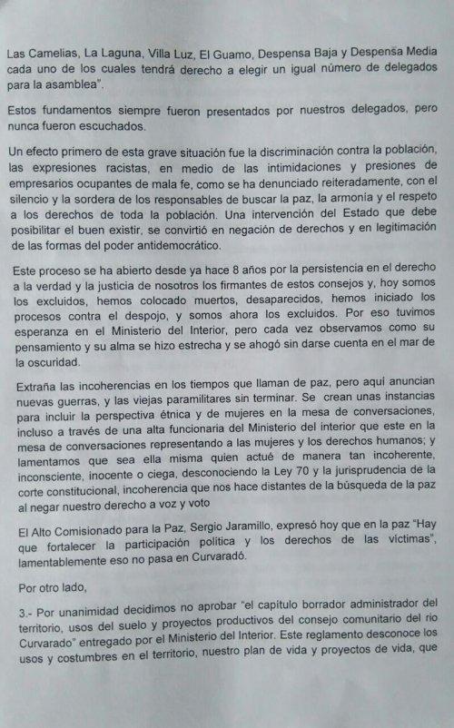 Carta Curvaradó_