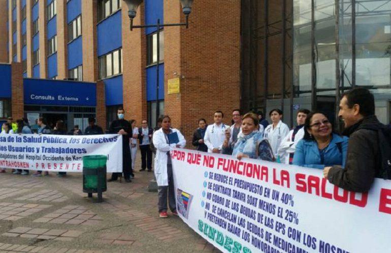 Reforma hospitalaria en Bogotá vendría acompañada de despidos masivos