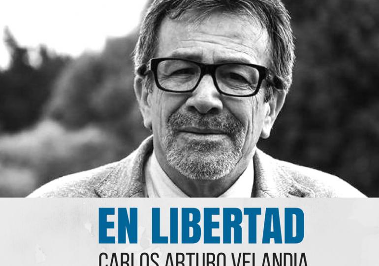 En libertad Carlos Arturo Velandia