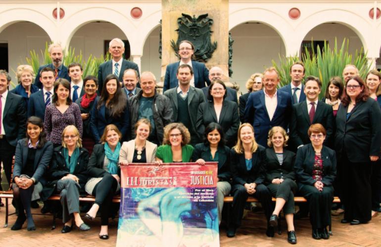 Caravana Internacional de Juristas llegan a Colombia a verificarán situación de DDHH