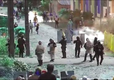 A un mes de movilización 24 personas heridas por la fuerza pública en Putumayo