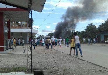 ESMAD reprime violentamente movilización en Putumayo
