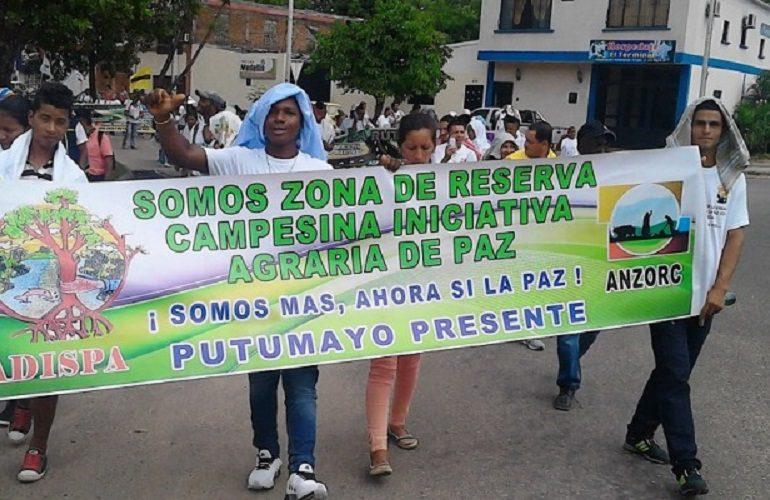 Continúa la crisis humanitaria en la Zona de Reserva Campesina en Puerto Asís, Putumayo