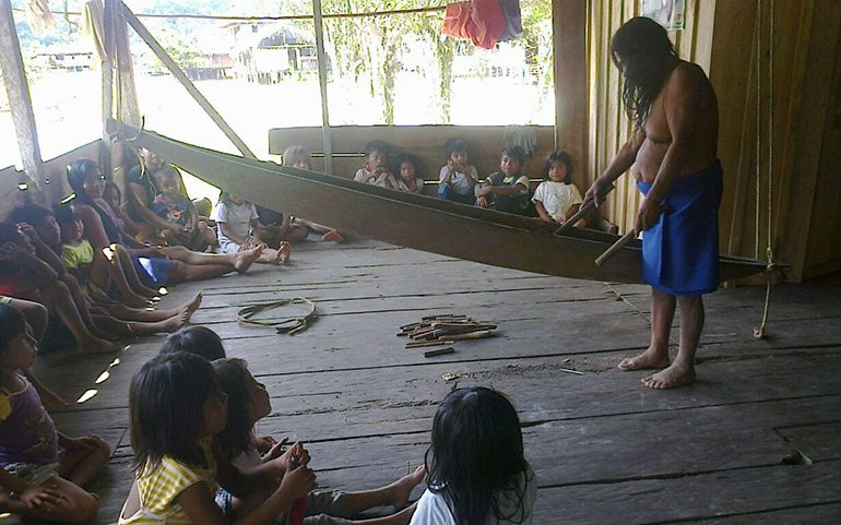 Indígenas Wounaan quieren identificar su comunidad con logo ancestral