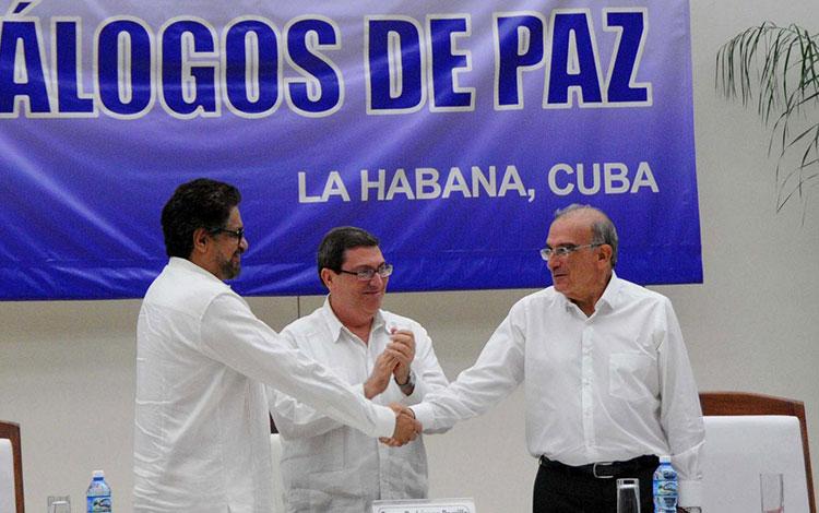 Acuerdo final de Paz entre gobierno y FARC