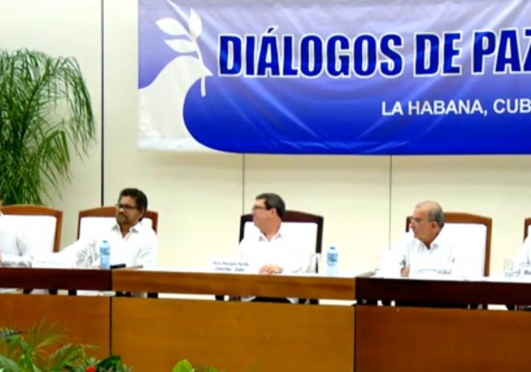 Así fue el anuncio del fin de la guerra con las FARC