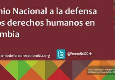 Estos son los finalistas al Premio Nacional a la Defensa de los Derechos Humanos