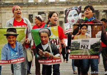 Las mujeres y la defensa de los derechos humanos en Colombia