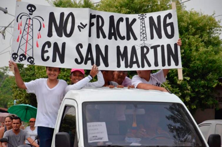 Tribunal Administrativo de Santander admite acción popular contra el fracking