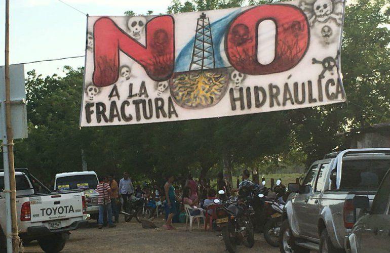 Ambientalistas colombianos se unen contra el Fracking