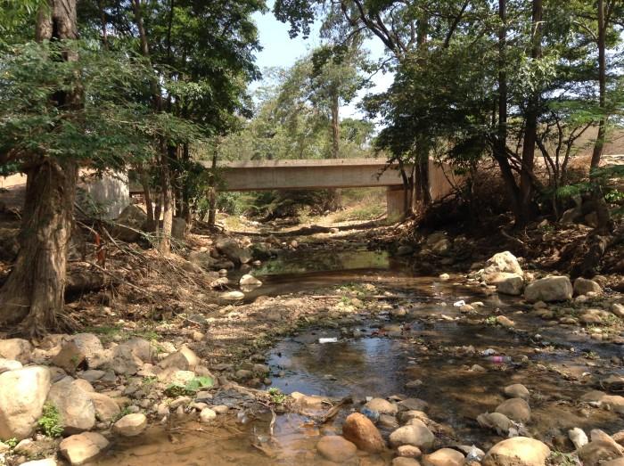 Gobierno es indiferente ante desviación del arroyo Bruno