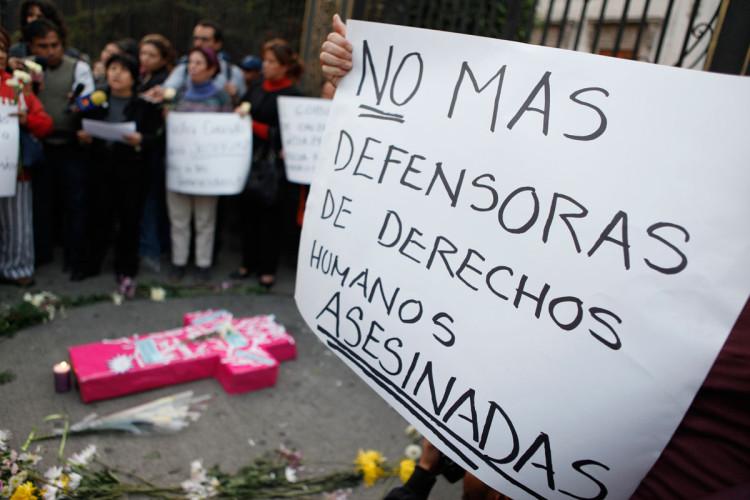 Colombia reportó 85 asesinatos contra Defensores de DDHH en el 2016