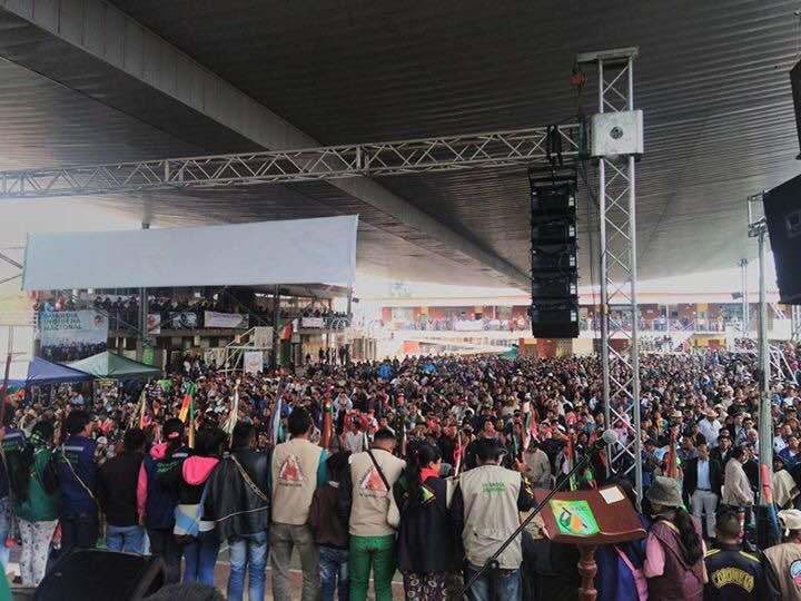 Más de 4.000 indígenas se reúnen en el IX Congreso Nacional de la ONIC