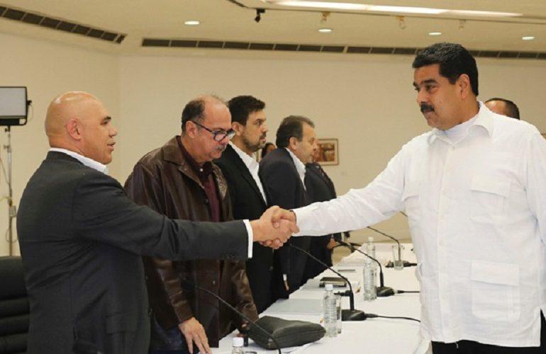 4 mesas de trabajo acuerdan Gobierno y Oposición en Venezuela
