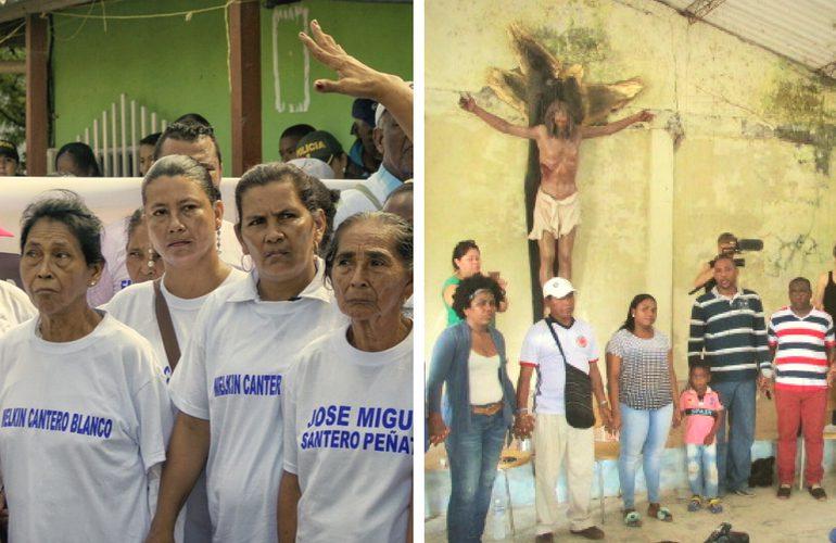 Víctimas de Bojayá y la Chinita exigen participación en pacto por la paz