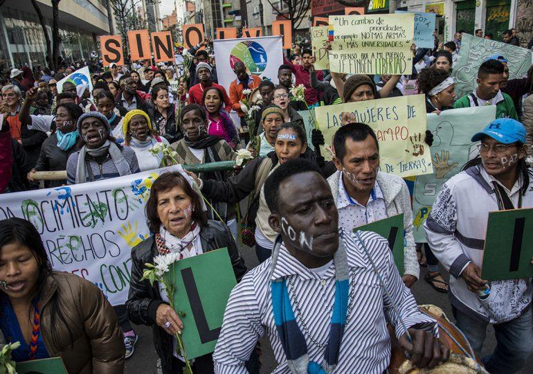 Colombia: el país más peligroso para defender los DDHH en América Latina