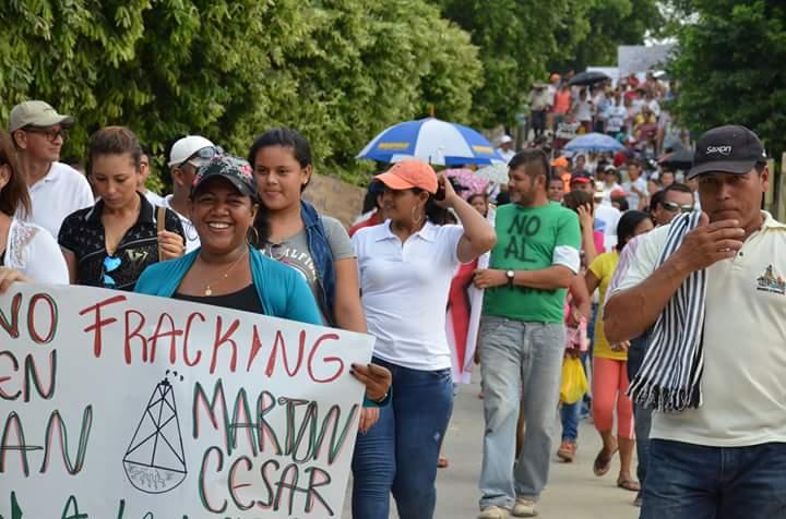 San Martín se opone al Fracking a pesar de presencia del ESMAD