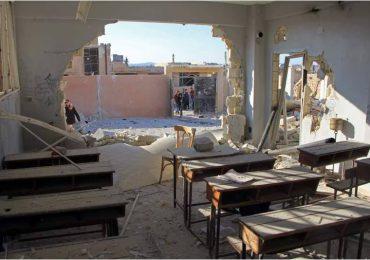 22 niños muertos por bombardeos en Siria