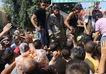 Alepo tiene alimentos para sobrevivir una semana más