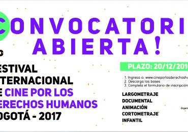 Convocatoria abierta para el 4to Festival de cine por los DDHH