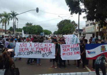 Trabajadores en paro contra medidas de Temer en Brasil