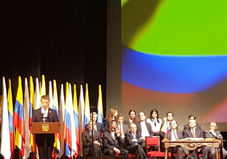 Este es el discurso del Presidente Santos en firma de acuerdo de paz