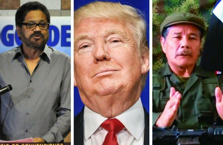 Donald Trump y el proceso de paz con las FARC y el ELN