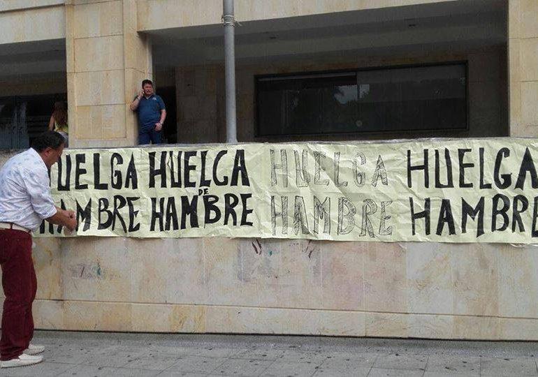 Se levanta huelga de hambre de trabajadores en Bucaramanga y Medellín