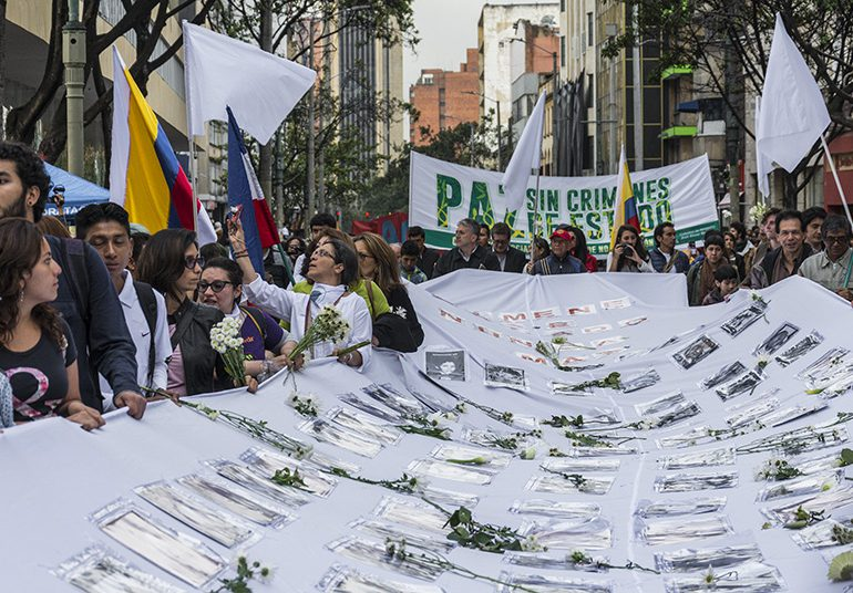 Víctimas del conflicto llevan más de tres años esperando sus curules