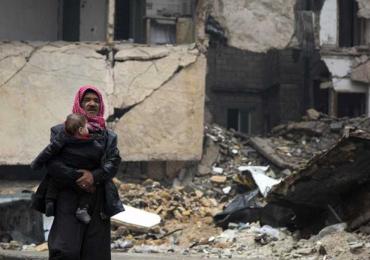 """""""El mundo debe levantarse por los niños de Alepo"""""""