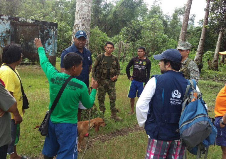 97 familias desplazadas por presencia de Autodefensas Gaitanistas